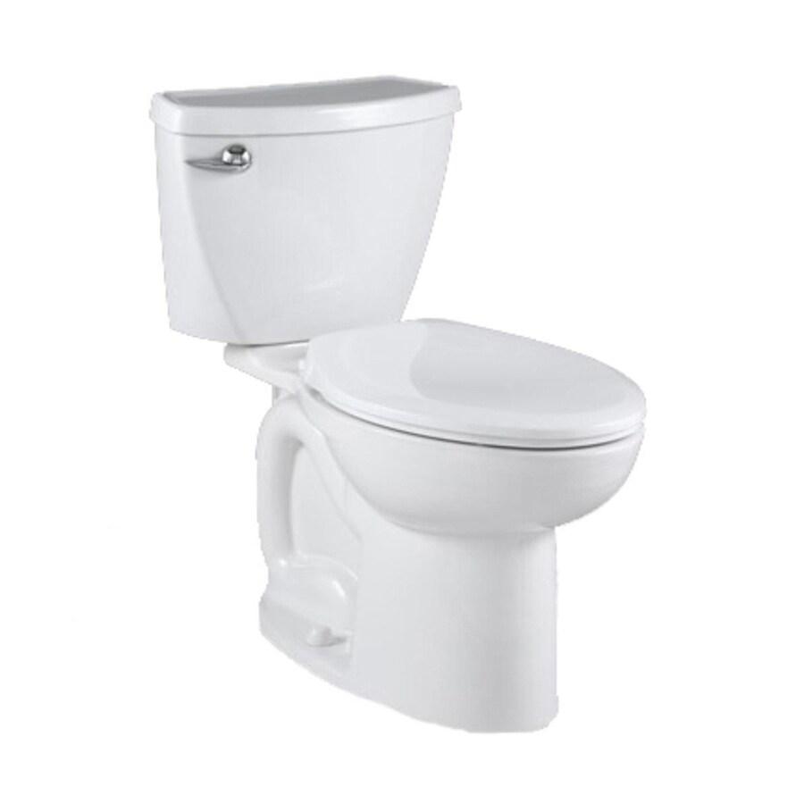 American Standard Saver White 1.28-GPF/4.85-LPF 12-in Rough-in Watersense Elongated 2-Piece Standard Height Toilet