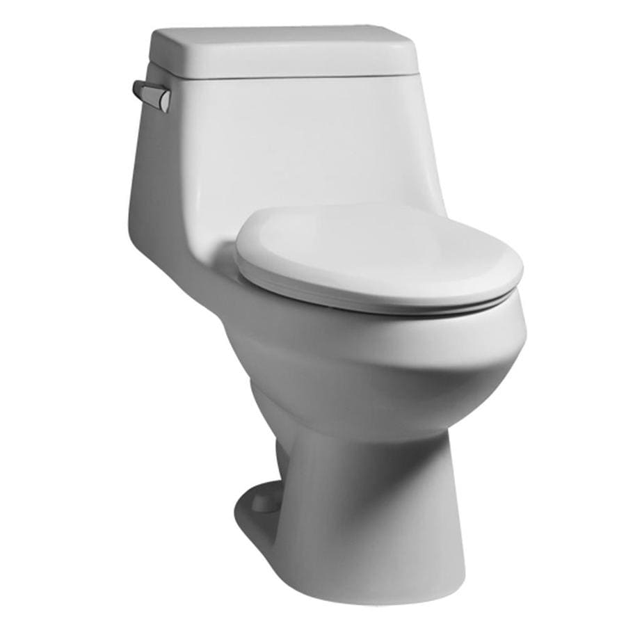 Shop American Standard Fairfield White Elongated Standard Height 1 ...