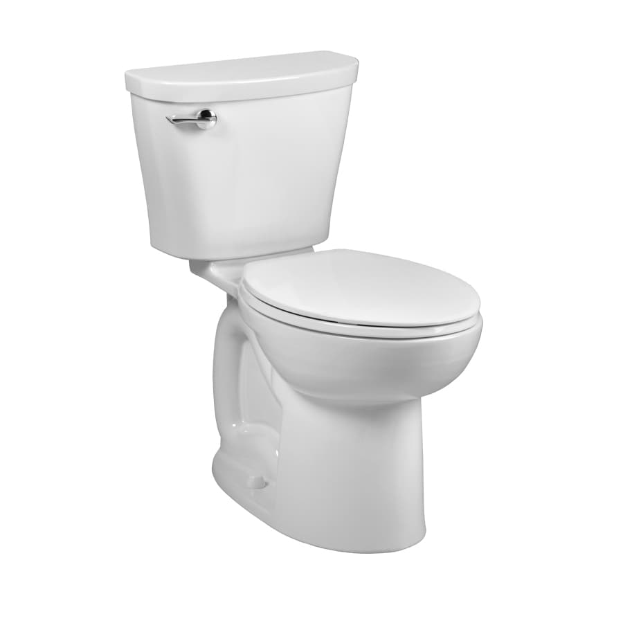 American Standard Saver White 1.28-GPF (4.85-LPF) 12 Rough-In WaterSense Elongated 2-Piece Chair Height Toilet