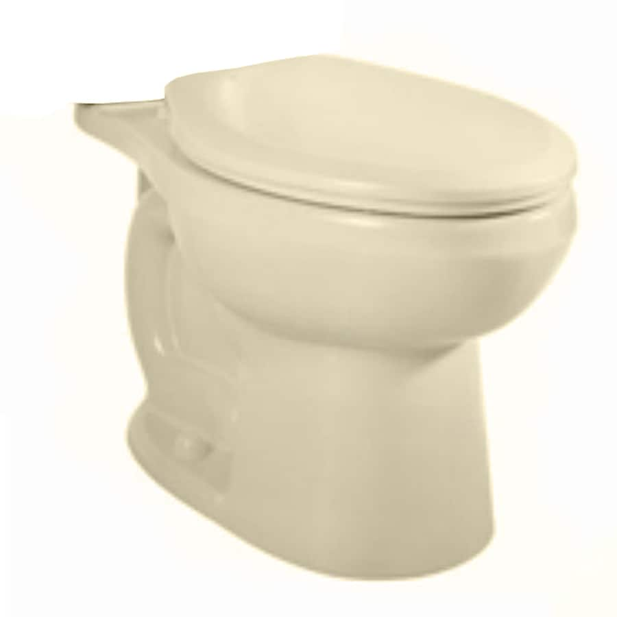 American Standard H2Option Bone Round Chair Height Toilet Bowl