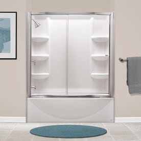 Shop American Standard Saver 60 In Arctic Acrylic Skirted