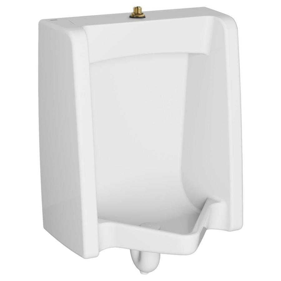 American Standard 18.875-in W x 26.125-in H White Wall-Mounted WaterSense Urinal