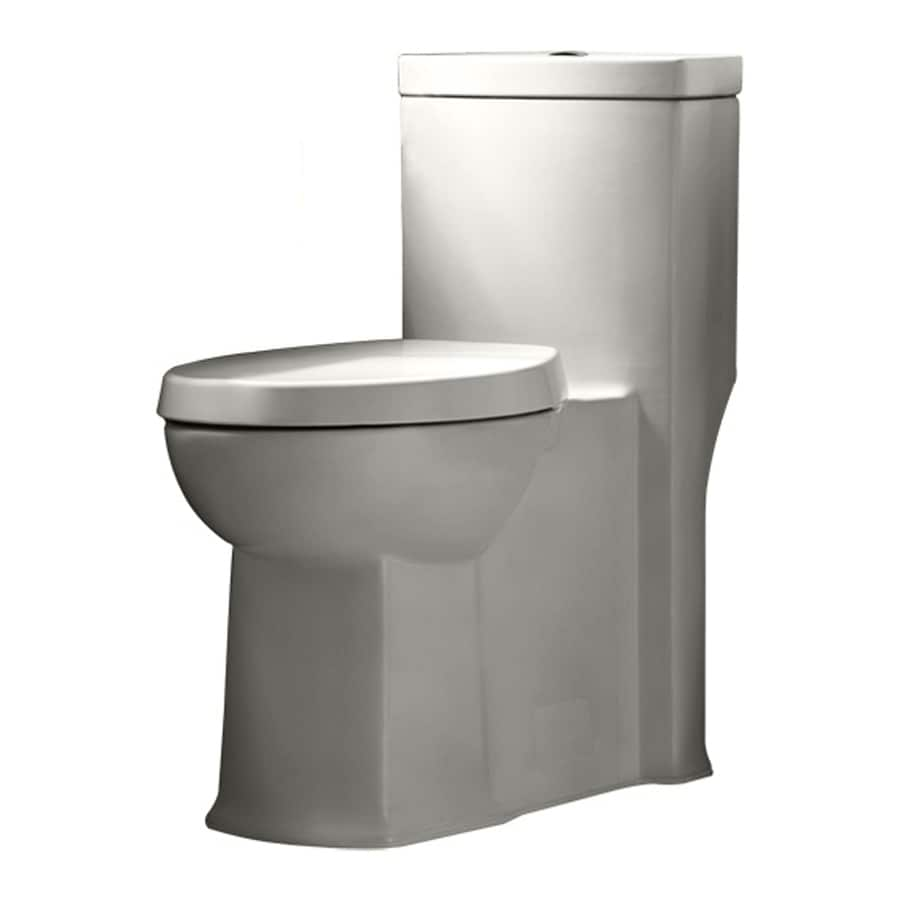 American Standard Boulevard 1.1-GPF White WaterSense Dual-Flush Elongated Chair Height 1-Piece Toilet