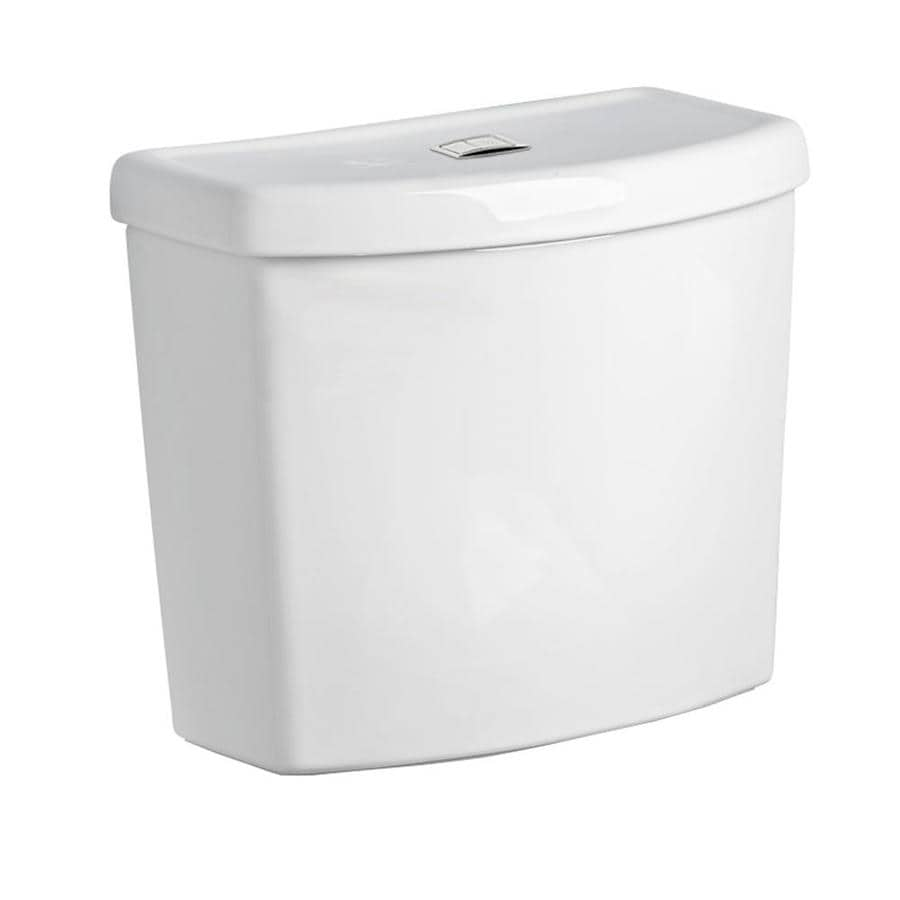 American Standard Studio White 1.6; 1.1-GPF 12-in Rough-In Dual-Flush High-Efficiency Toilet Tank