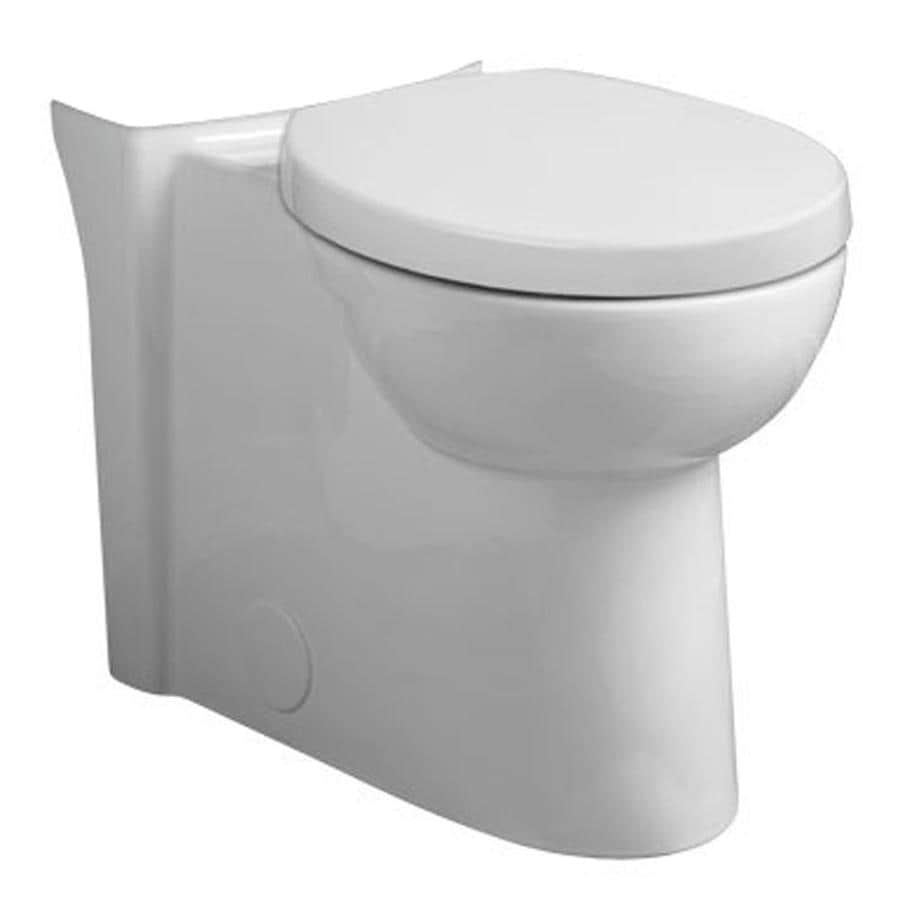 American Standard Studio Chair Height White 12-in Rough-In Pressure Assist Round Toilet Bowl