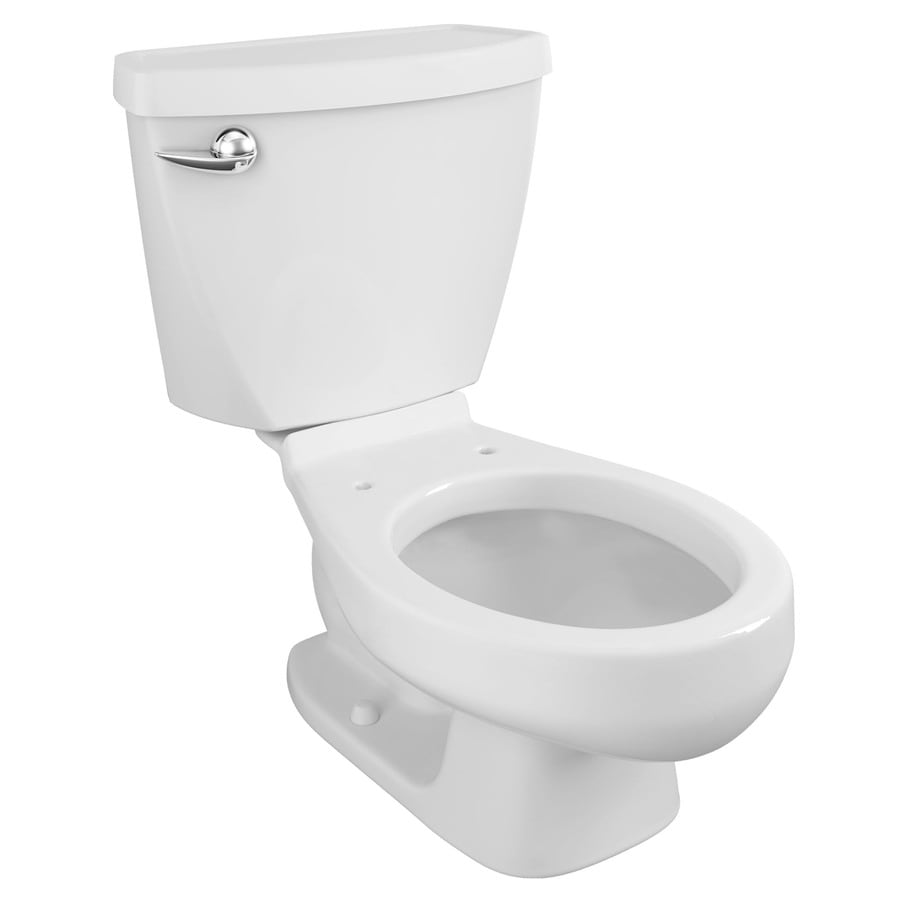 American Standard Baby Devoro White 1.28-GPF (4.85-LPF) 10 Rough-In WaterSense Round 2-Piece Children's Height Rear Outlet Toilet