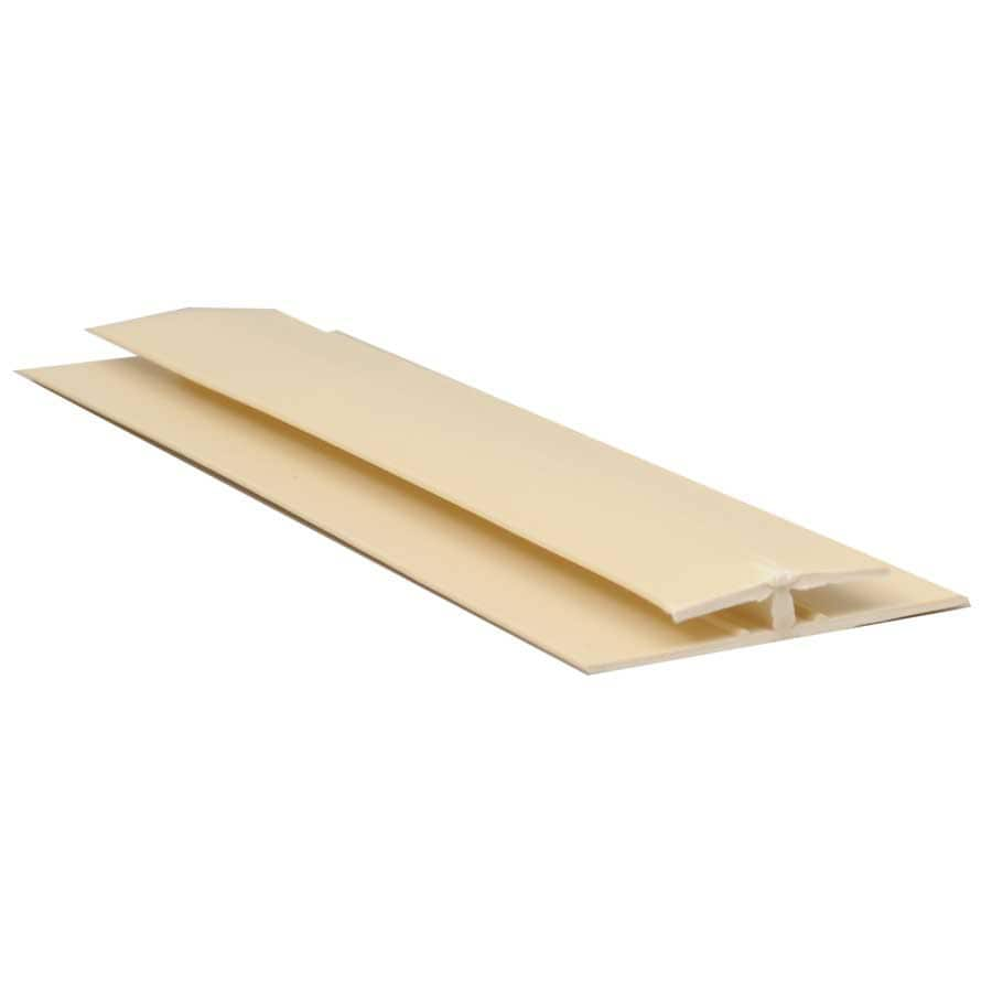 1.42-in x 8-ft Prefinished Vinyl Connector Wall Panel Moulding
