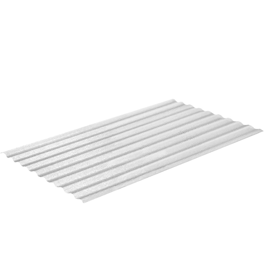 Sequentia 26-in x 12-ft Corrugated Fiberglass Roof Panel