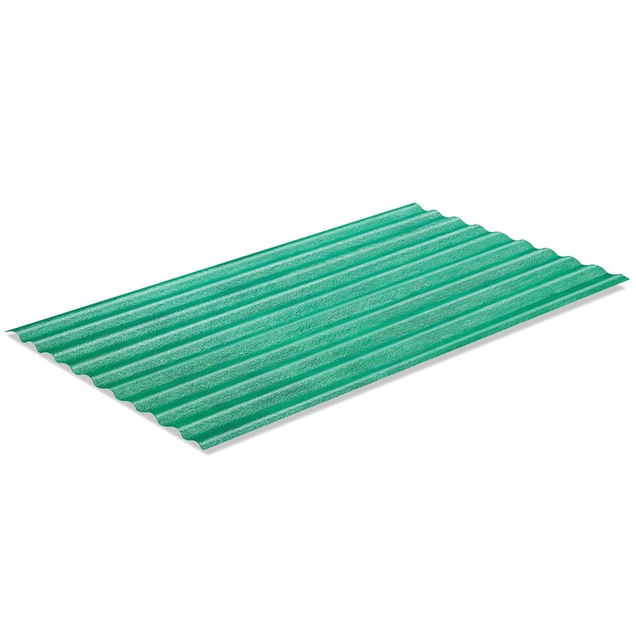 Sequentia 26-in x 12-ft Corrugated Fiberglass Roof Panel