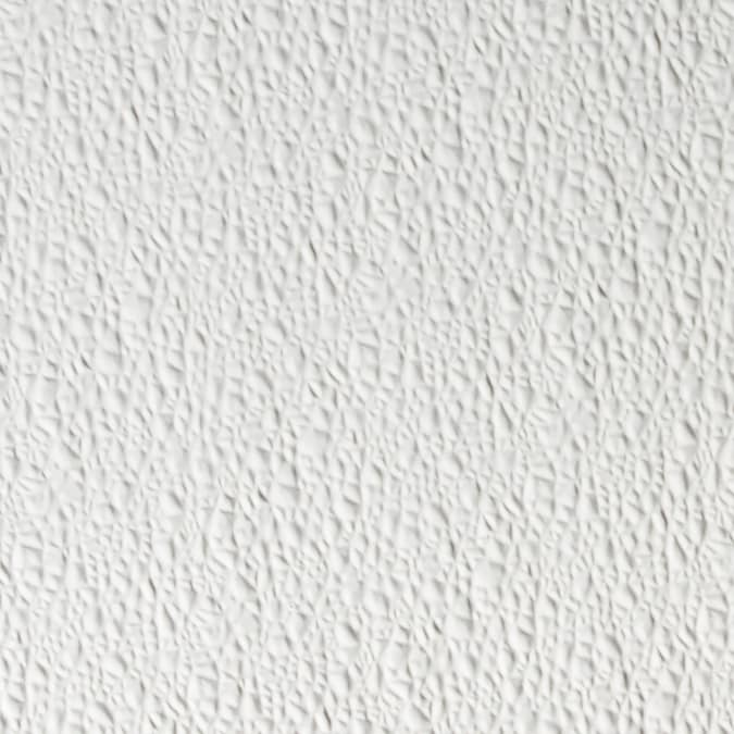 48 In X 8 Ft Embossed White Wall Panel