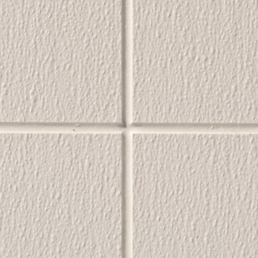 48-in x 8-ft Embossed Cotton White Sandstone Fiberglass Reinforced Wall Panel