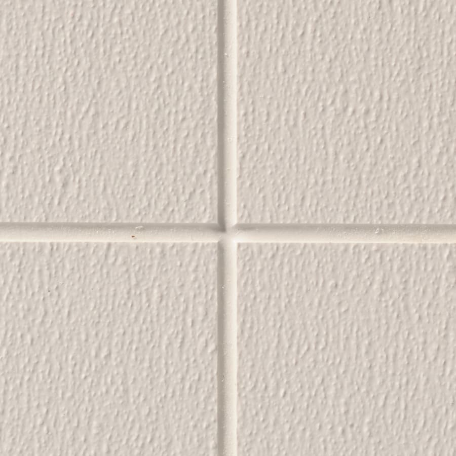 Sequentia 48-in x 10-ft Embossed Cotton White Sandstone Fiberglass Reinforced Wall Panel