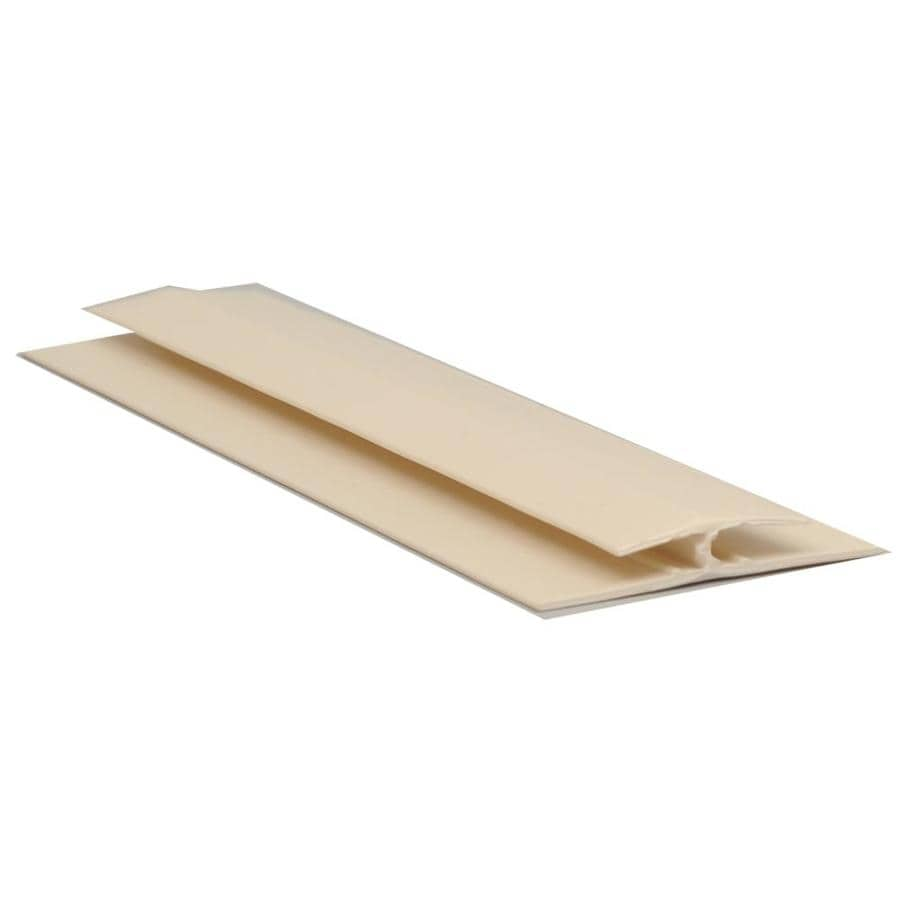 Sequentia 1.42-in x 10-ft Prefinished Vinyl Connector Wall Panel Moulding