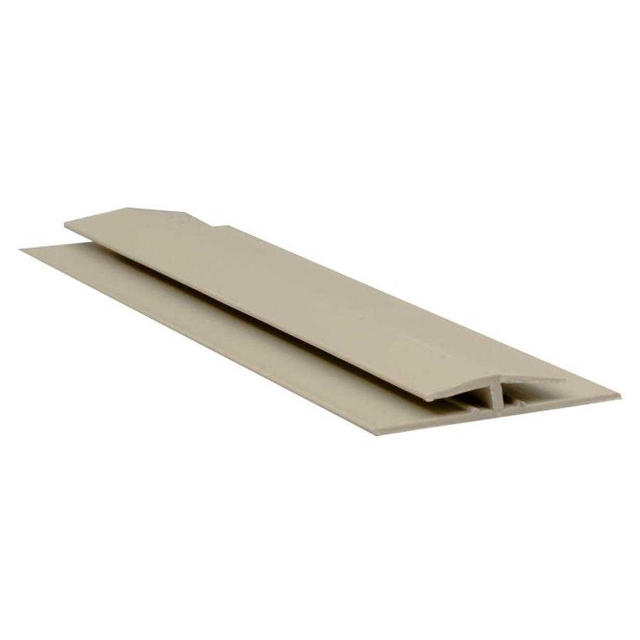 Sequentia 1.42-in x 10-ft Vinyl Connector Wall Panel Moulding