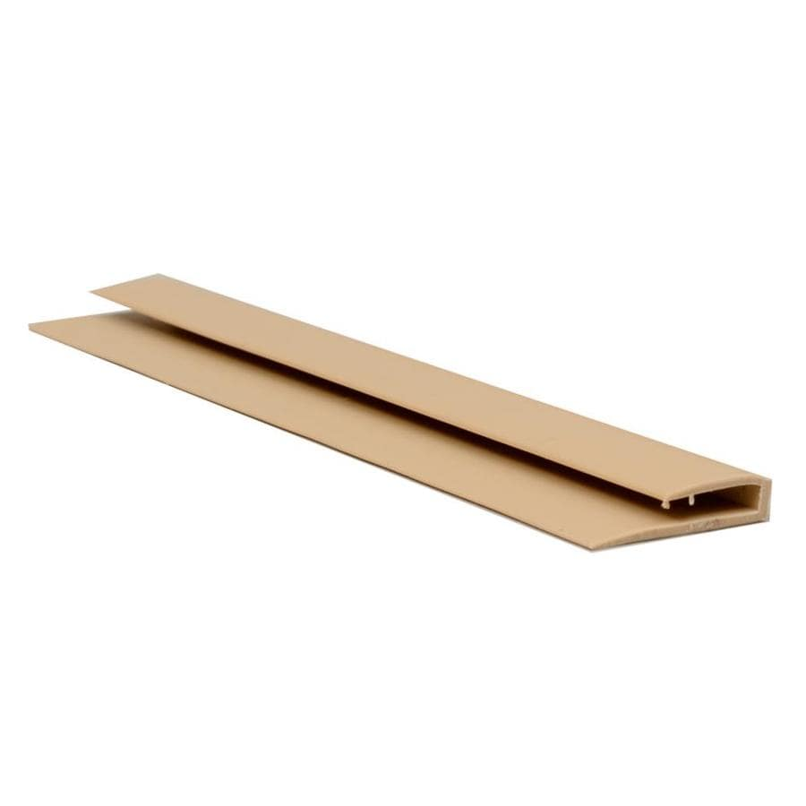 Sequentia 0.865-in x 10-ft Prefinished Vinyl Wainscot Panel Cap Wall Panel Moulding