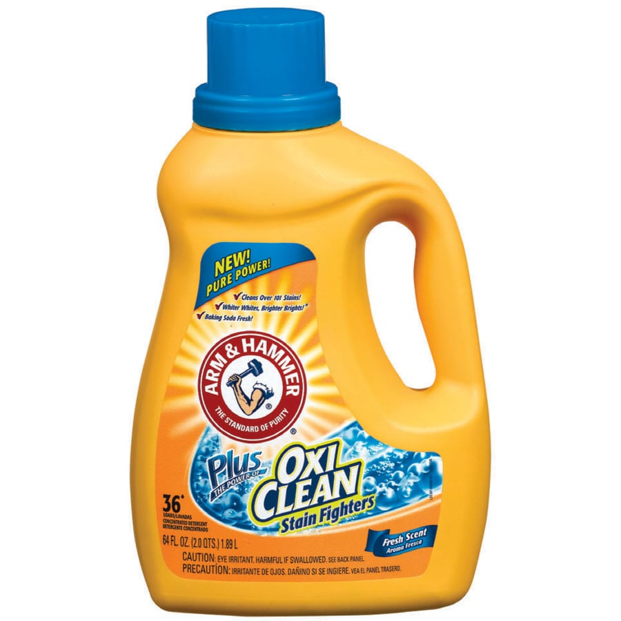 arm and hammer laundry detergent shop arm amp hammer 64 fl oz fresh scent he liquid laundry 28419