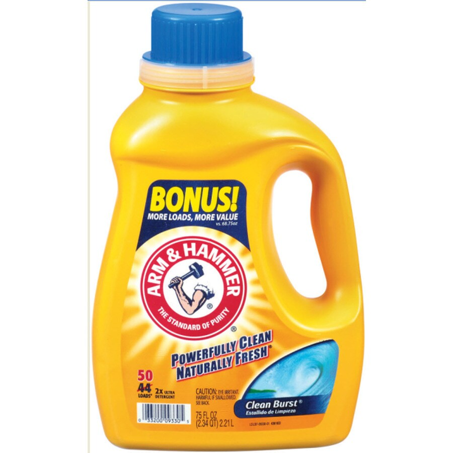 Is arm and hammer powder laundry detergent he - Arm Hammer 75 Fl Oz Clean Burst He Laundry Detergent