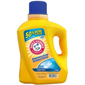 ARM & HAMMER 150-oz Clean burst HE Liquid Laundry Detergent