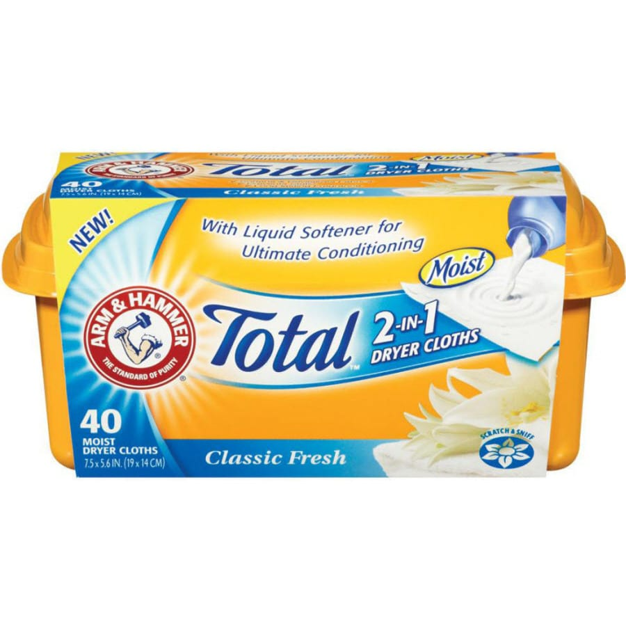 ARM & HAMMER 40-Count Fabric Softeners