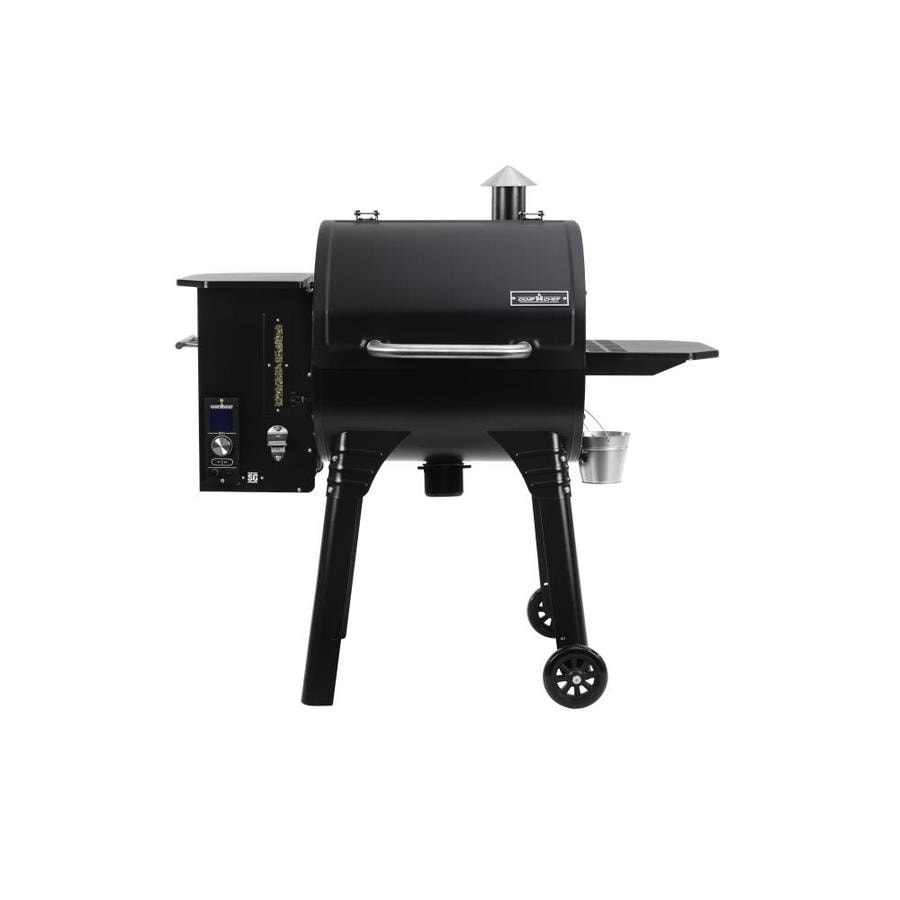 Camp Chef SmokePro SG 24 811-sq in Black Pellet Grill