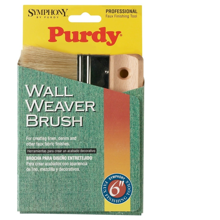 Purdy 6-in Natural Blending Faux Finish Paint Brush