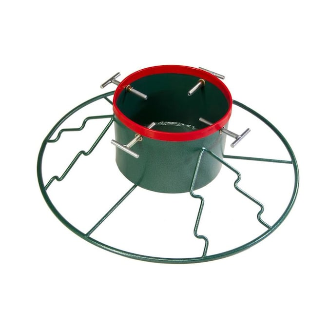 Yard Butler 10 In Metal 11 Ft Tree Stand In The Christmas