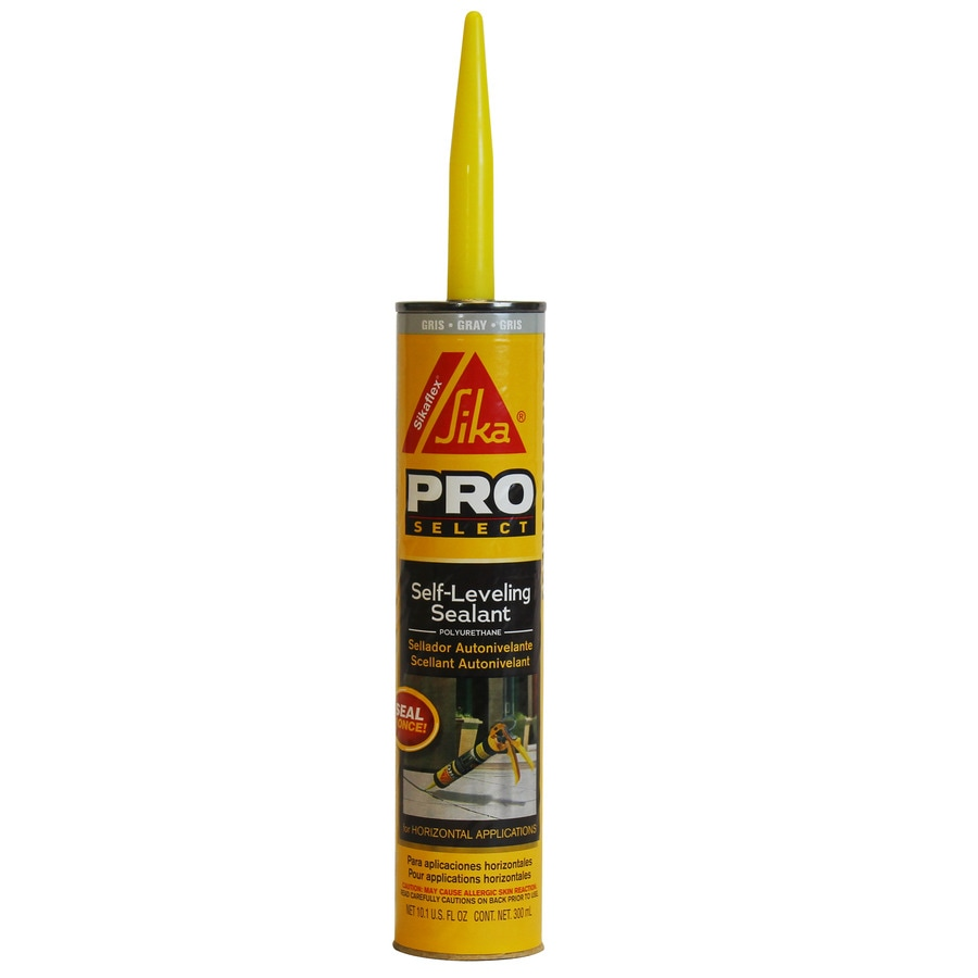 Sika 10.1-oz Gray Sanded Paintable Caulk