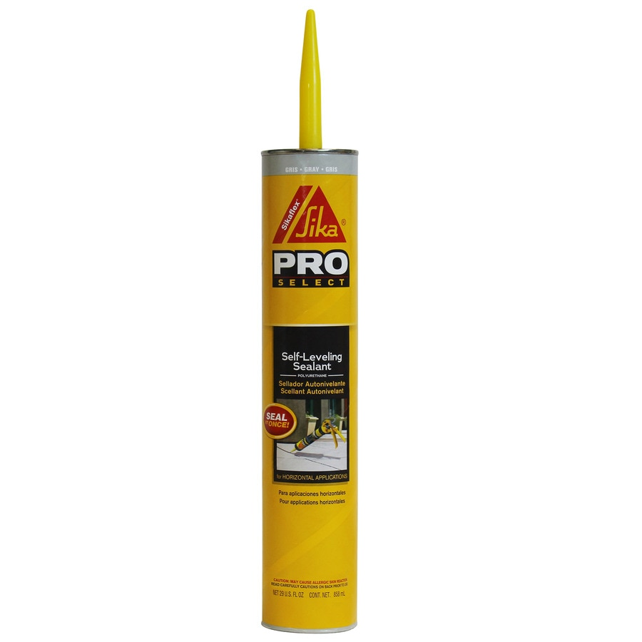 Grey Kitchen And Bath Caulk: Shop Sika 29-oz Gray Sanded Paintable Caulk At Lowes.com