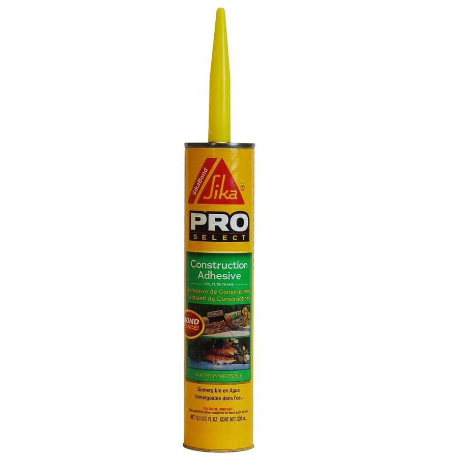 Sika Gray Exterior Multi-Purpose Construction Adhesive (Actual Net Contents: 10.1-fl oz)