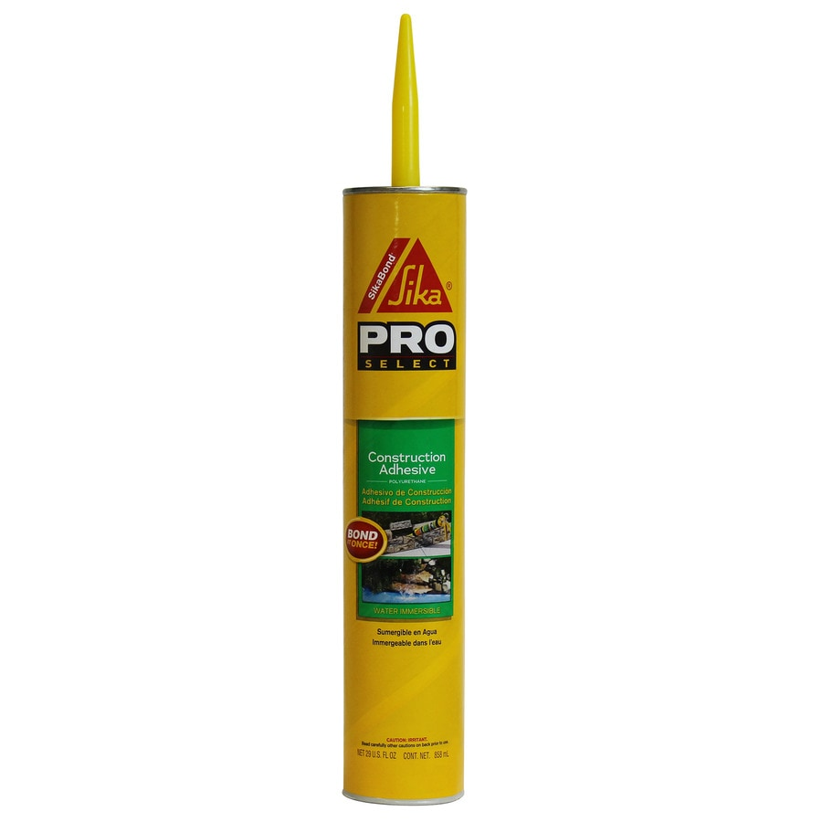 Sika Gray Exterior Multi-Purpose Construction Adhesive (Actual Net Contents: 29-fl oz)