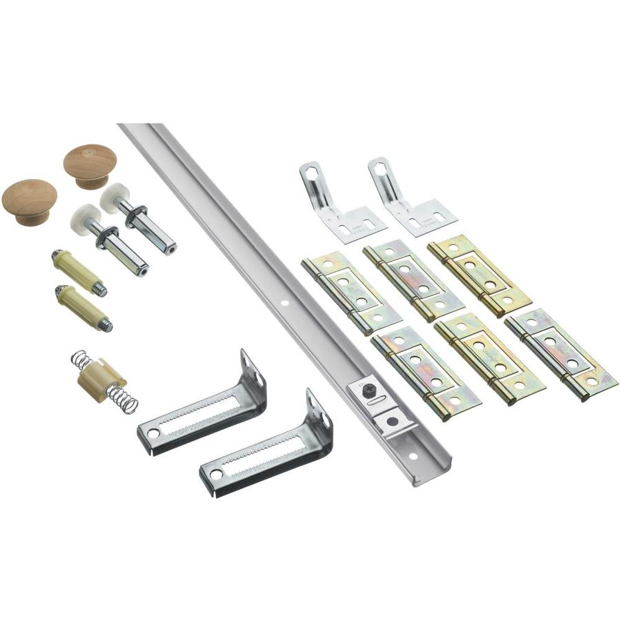 Stanley-National Hardware 14-Piece Bifold Closet Door Hardware Kit