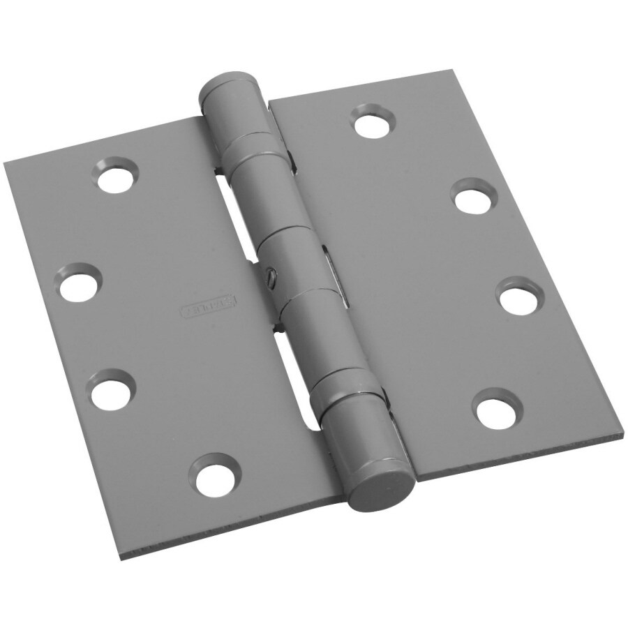 Stanley-National Hardware 4.5-in H Unfinished Interior/Exterior Mortise Door Hinge