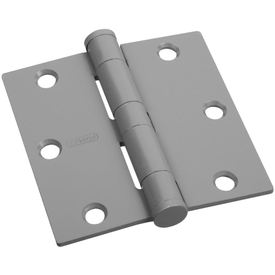 Stanley-National Hardware 3.5-in H Unfinished Interior/Exterior Mortise Door Hinge