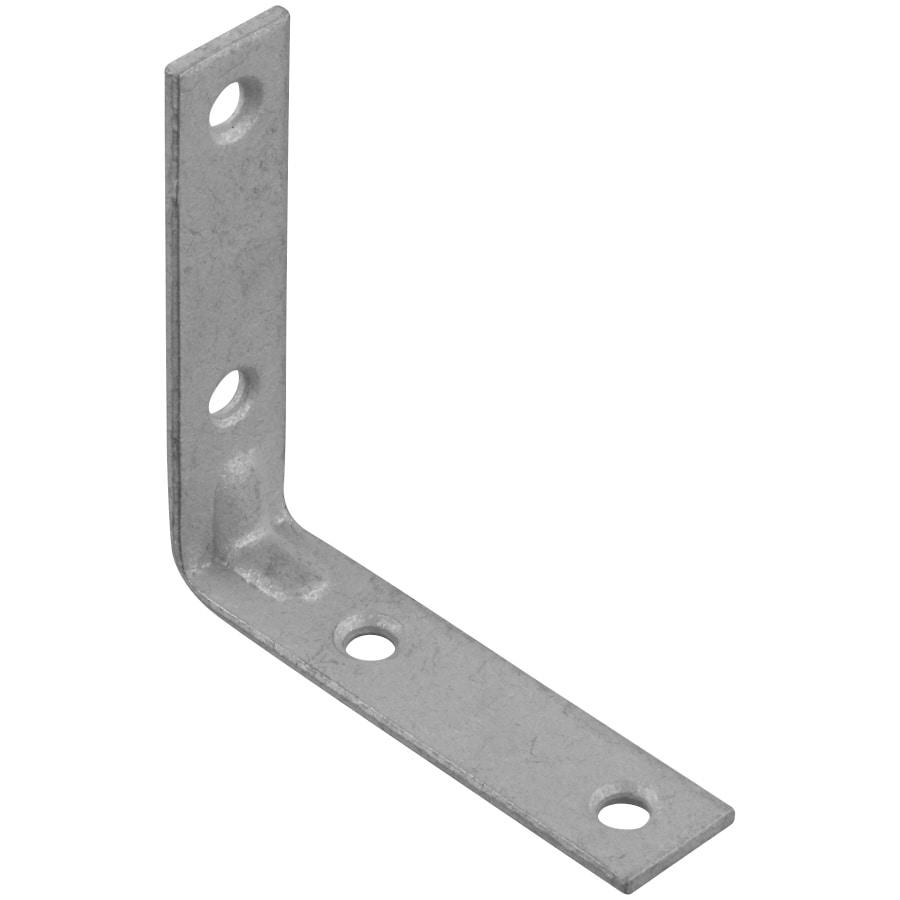 Stanley-National Hardware 2-Pack 2.5-in Galvanized Corner Brace
