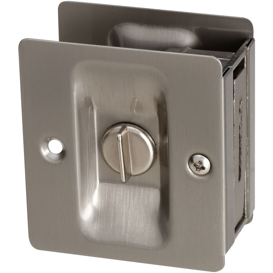 Gatehouse POCKET DOOR LATCH SATIN NICKEL