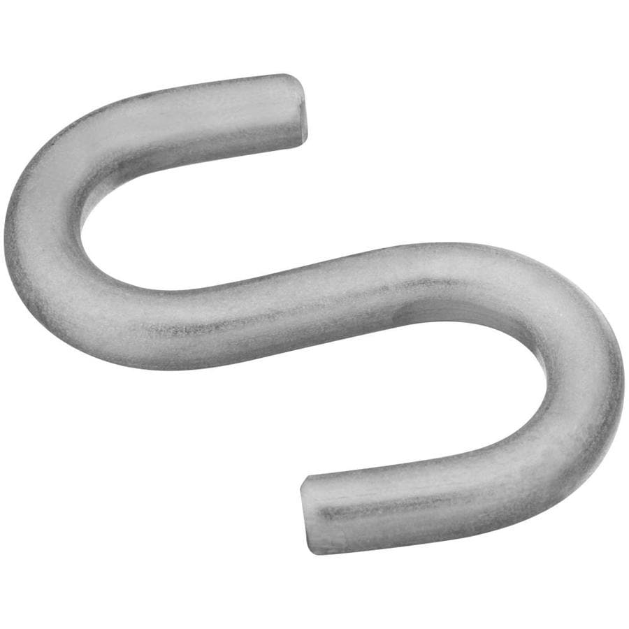 Stanley-National Hardware 2-Pack Stainless steel S Hooks Hook