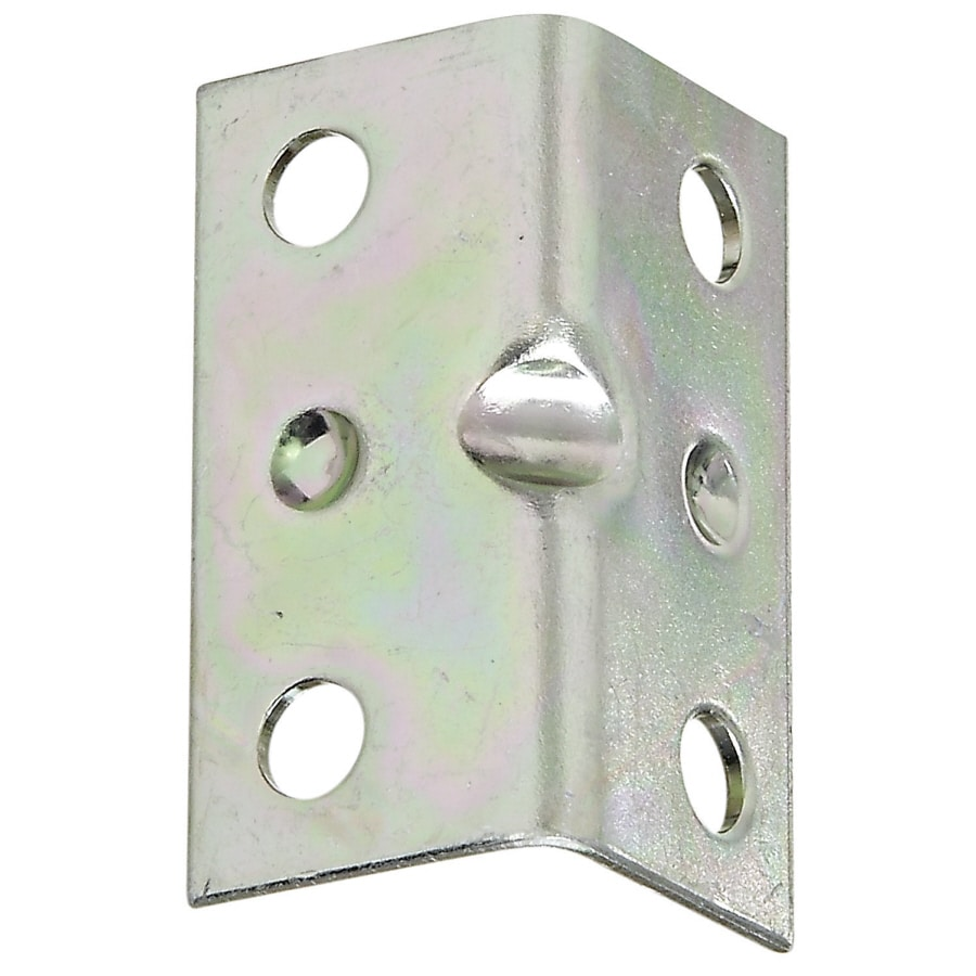 Stanley-National Hardware 4-Pack 1.5-in Zinc Corner Brace