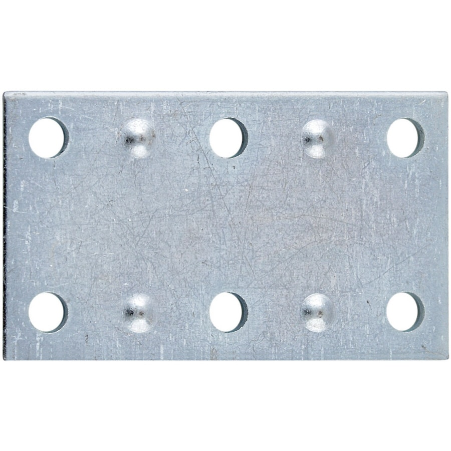 Stanley-National Hardware 4-Pack 1.375-in x 2.5-in x Zinc-plated Flat Brace
