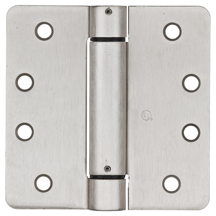 Stanley-National Hardware 4-in H Satin Nickel Interior/Exterior Mortise Door Hinge