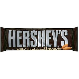 Hershey's 1.45-oz Chocolate with Almonds Candy Bar