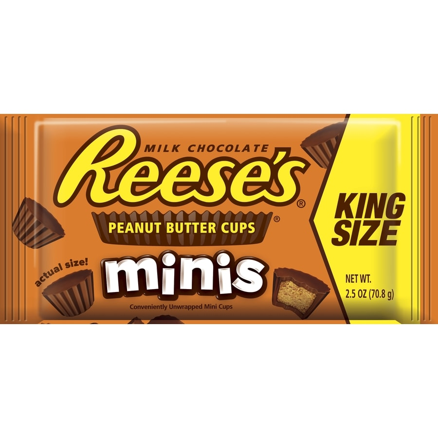 Reese's 2.5-oz King Size Peanut Butter Cups Minis