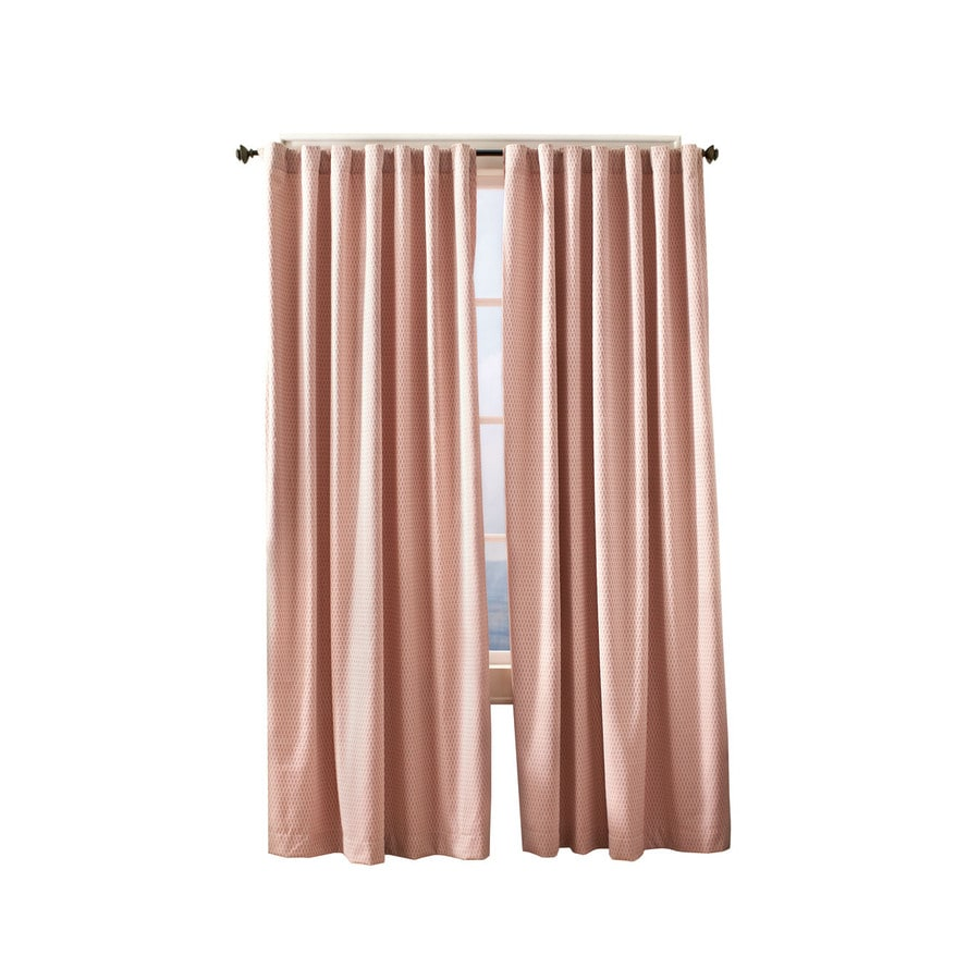 Simply Classic Devin 95-in Adobe Polyester Back Tab Light Filtering Single Curtain Panel