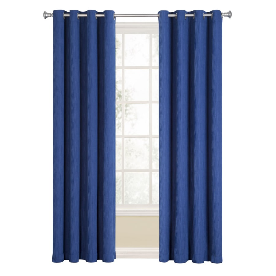 Lowes Navy Blue Curtains Curtain Menzilperde Net