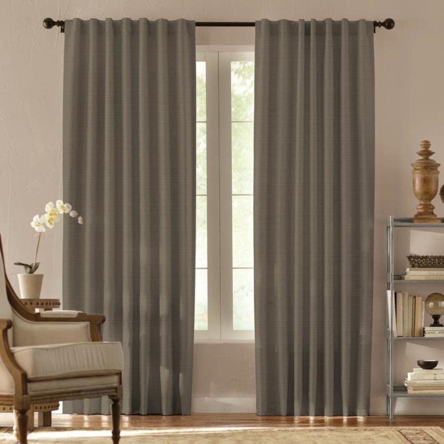Springmaid Springmaid Tonaby 108 In. L Greystone Lined Curtain Panel