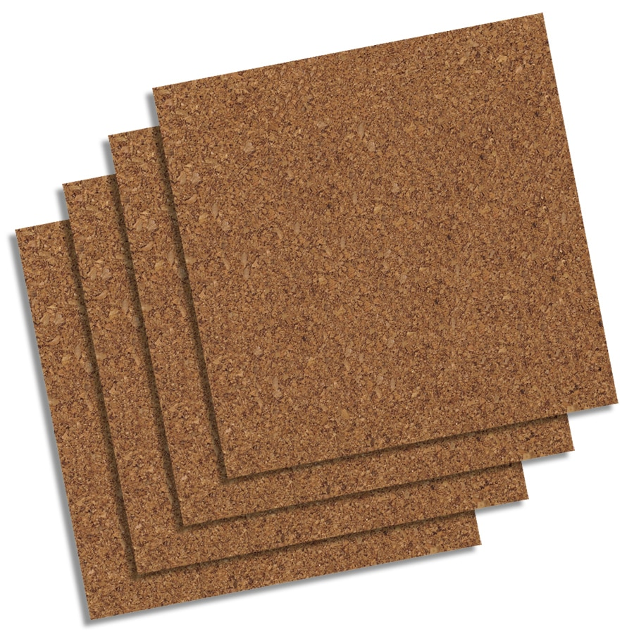 Beau QUARTET 12 In X 1 Ft Natural Cork Shelf Liner