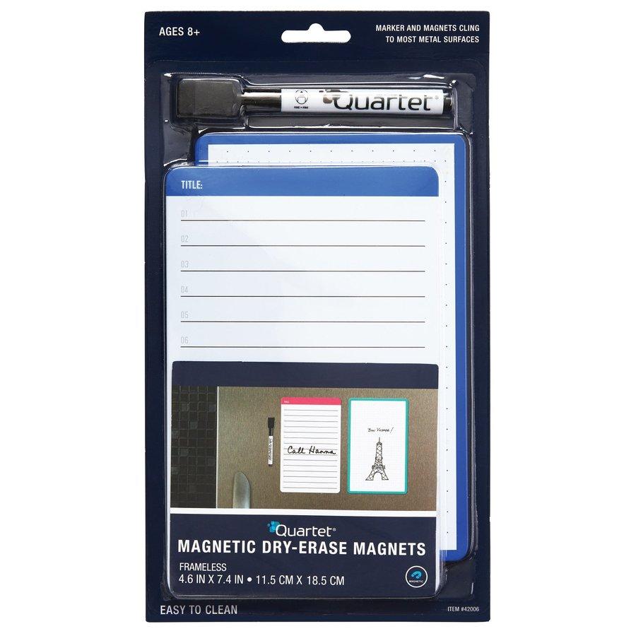 QUARTET Dry-Erase Magnets