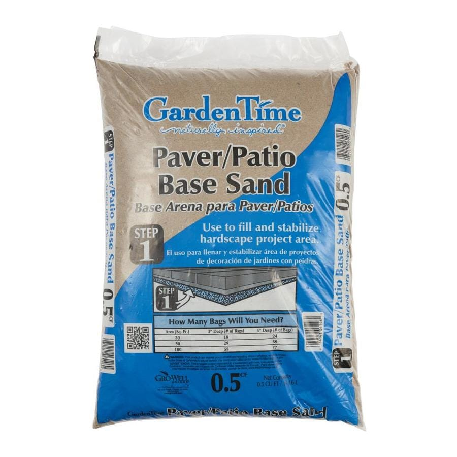 Garden Time 0.5-cu ft Paver Base Sand