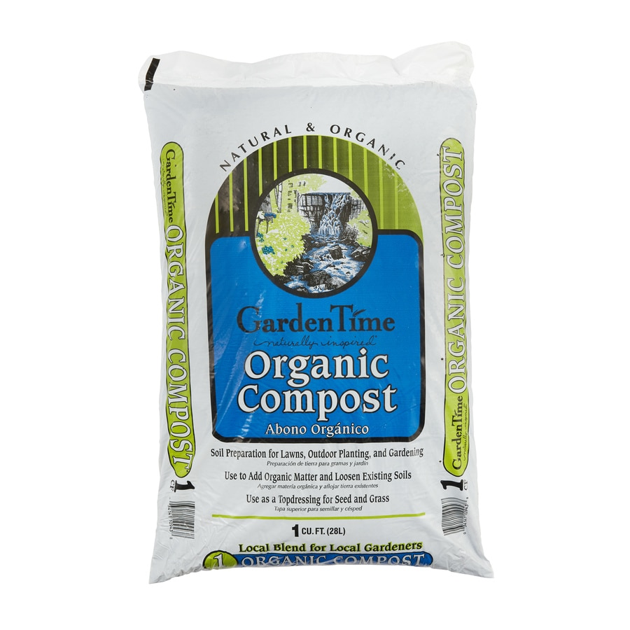 Garden Time 8-Quart Organic Compost
