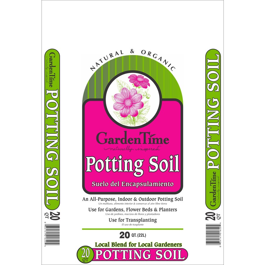 GRO-WELL 20-Quart Potting Soil