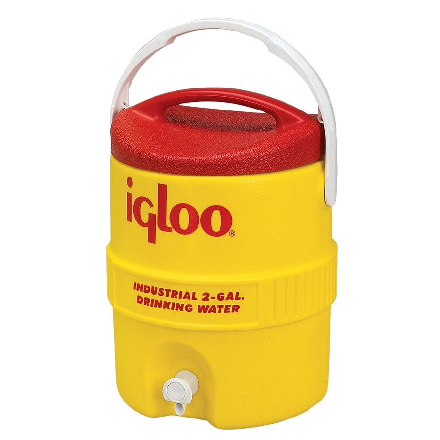 Igloo 2-Gallon Yellow Poly Beverage Dispenser